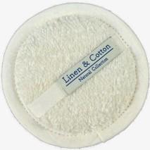 Linen Sponge, White