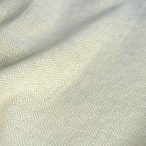 Linen Fabric, Rhombus Pattern