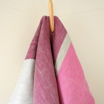 Tea Towels- Purple & Gray
